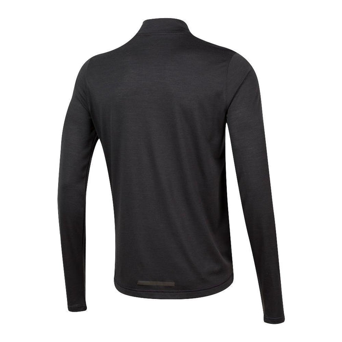 Pearl Izumi Men's Long Sleeve BLVD Merino Cycling Jersey - Black