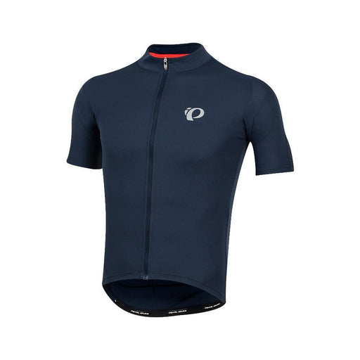 Men's SELECT Pursuit Short Sleeve Road Bike Jersey - Navy Blue