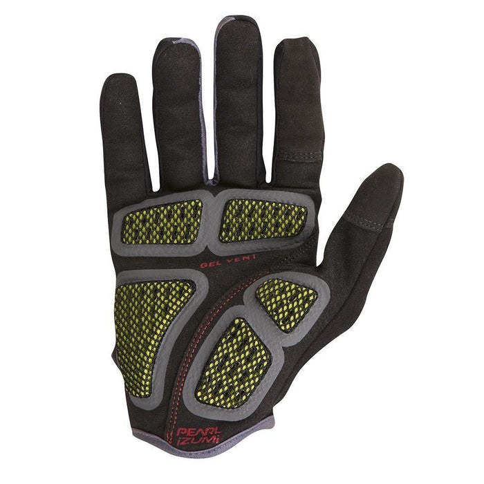 P.R.O. Gel Vent Full Finger Road Bike Gloves - Black