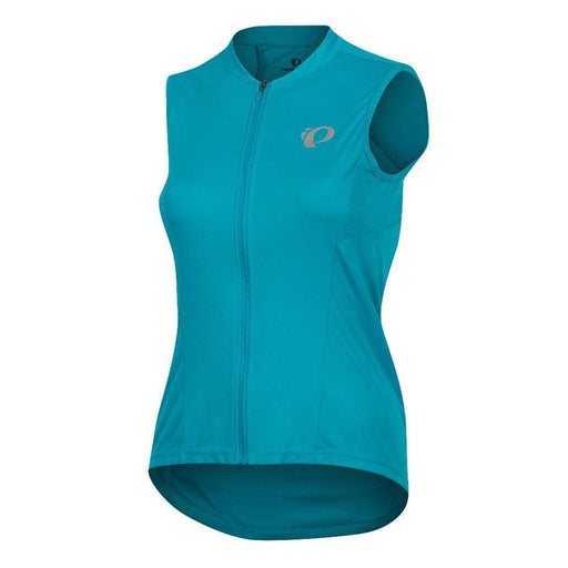 Women's SELECT Pursuit Sleeveless Road Bike Jersey - Teal