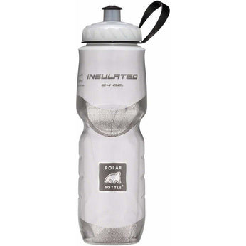 Polar Bottles Polar Insulated Water Bottle: 24oz, White