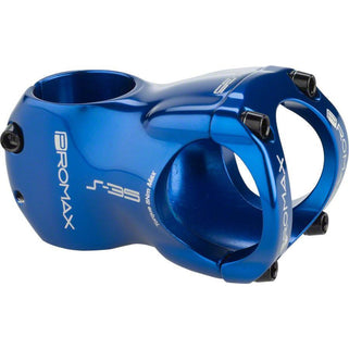 "Promax  S-35 Stem 40mm 0 Degree 1-1/8"" Blue"