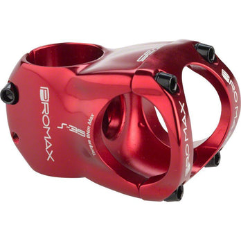 "Promax  S-35 Stem 40mm 0 Degree 1-1/8"" Red"