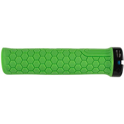 RaceFace Getta Bike Handlebar Grips - Green, Lock-On, 30mm