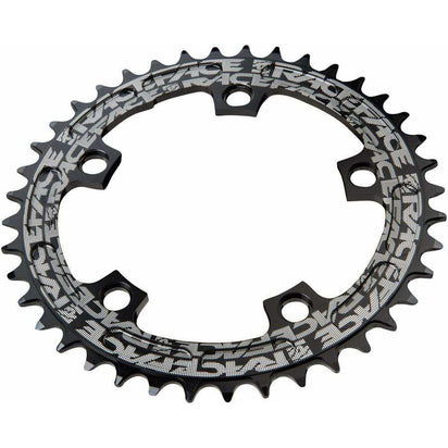 RaceFace  Narrow Wide Chainring: 110mm BCD, 42t, Black