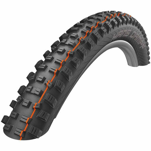 "Hans Dampf Bike Tire 27.5 x 2.35"" Folding Bead Evolution Line Addix Soft Compound SnakeSkin Tubeless Easy"