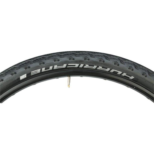"Hurricane Bike Tire: 27.5 x 2.00"", Wire Bead, Performance Line, Dual Compound"