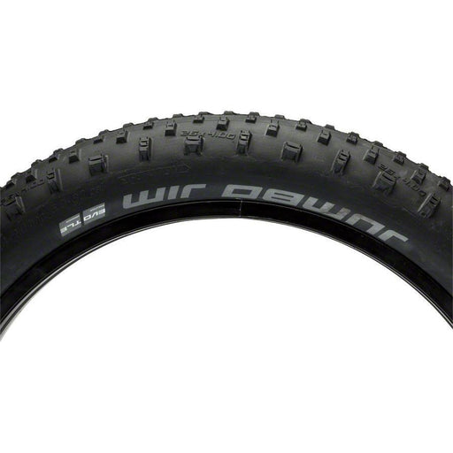 "Jumbo Jim Bike Tire: 26 x 4.00"", Folding Bead, Evolution Line, Addix Speed Compound, SnakeSkin, Tubeless Easy"