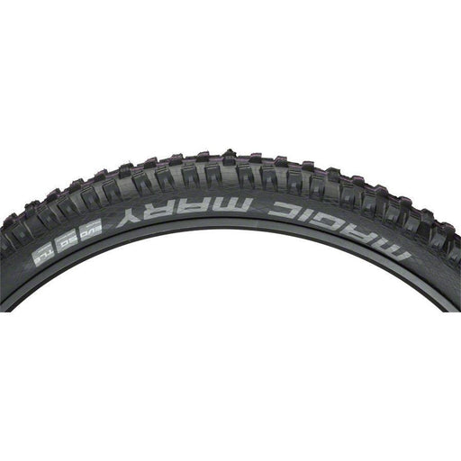 "Schwalbe Magic Mary Bike Tire: 27.5 x 2.35"", Folding Bead, Evolution Line, Addix Ultra Soft Compound, Super Gravity, Tubeless Easy"