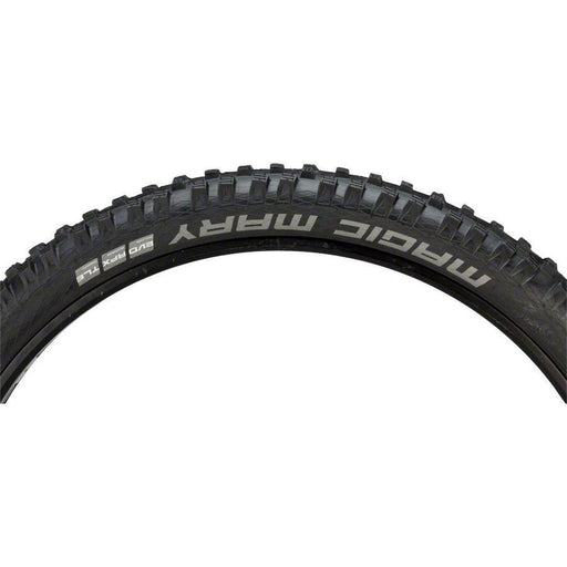 "Magic Mary Bike Tire: 27.5 x 2.60"", Folding Bead, Evolution Line, Addix Soft Compound, SnakeSkin, Tubeless Easy, Apex"