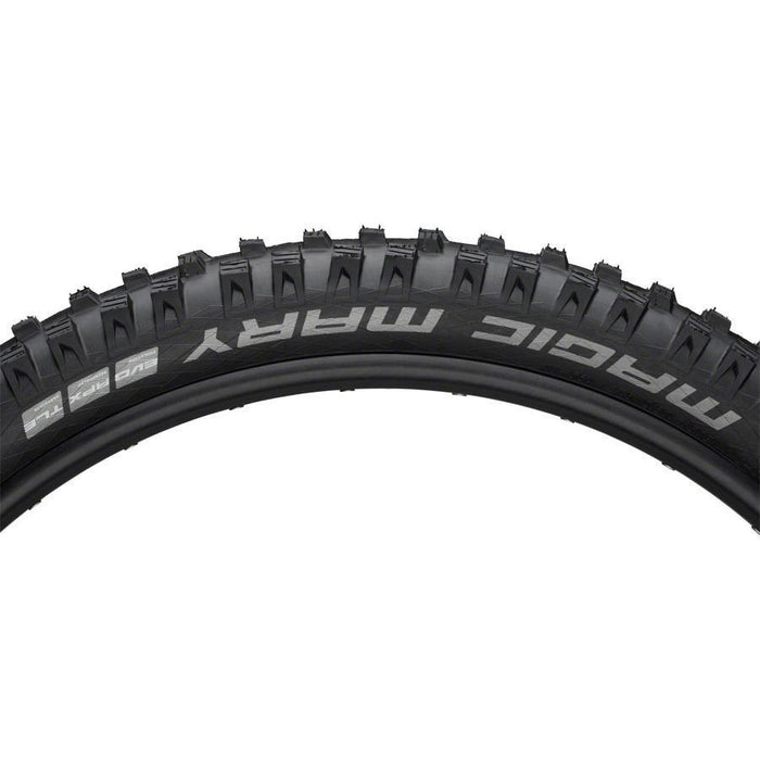 "Magic Mary Bike Tire: 27.5 x 2.80"", Folding Bead, Evolution Line, Addix Soft Compound, SnakeSkin, Tubeless Easy, Apex"