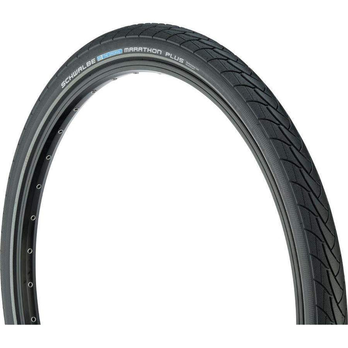 "Marathon Plus Bike Tire: 26 x 2.00"", Wire Bead, Performance Line, Endurance Compound, SmartGuard"