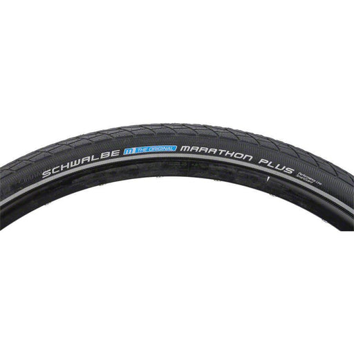 Marathon Plus Bike Tire: 700 x 38c, Wire Bead, Performance Line, Endurance Compound, SmartGuard, Black/Reflect