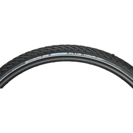 Marathon Plus Tour Bike Tire: 700 x 35c, Wire Bead, Performance Line, Endurance Compound, SmartGuard, Black/Reflect