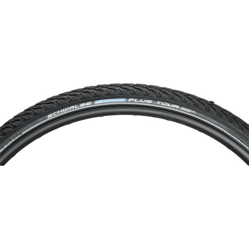 Schwalbe Marathon Plus Tour Bike Tire: 700 x 40c, Wire Bead, Performance Line, Endurance Compound, SmartGuard, Black/Reflect
