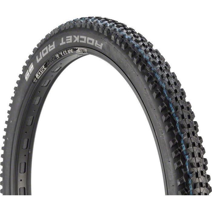 "Rocket Ron Bike Tire: 27.5 x 2.60"", Folding Bead, Evolution Line, Addix Speed Compound, SnakeSkin, Tubeless Easy"