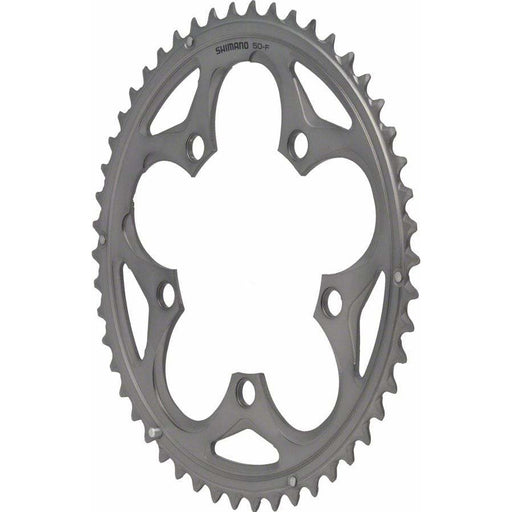 Shimano  105 5750-S 50t 110mm 10-Speed Chainring Silver