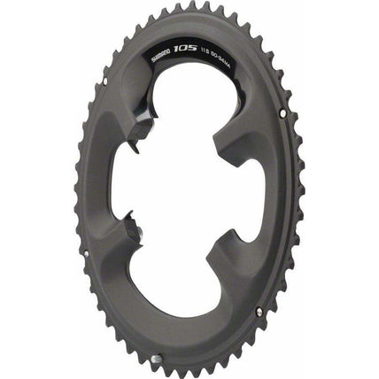 105 5800-L 50t 110mm 11-Speed Chainring For 50/34t Black
