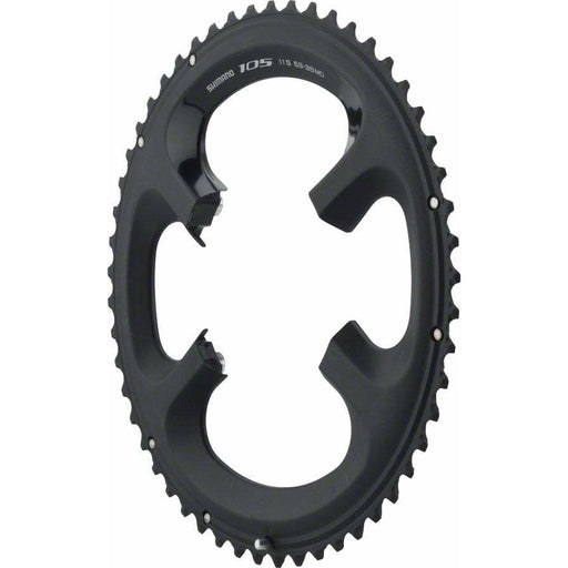 Shimano  105 5800-L 53t 110mm 11-Speed Chainring For 53/39t Black