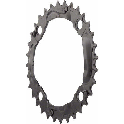 Shimano  Deore M590 32t 104mm 9-Speed Middle Chainring Black