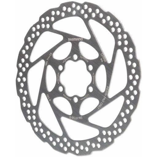 Shimano  RT56S 160mm 6-Bolt Disc Brake Rotor, Resin Pad Only