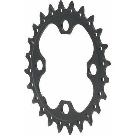 Shimano  SLX M660-10, LX T671 24t 64mm 10-Speed Inner Chainring Black
