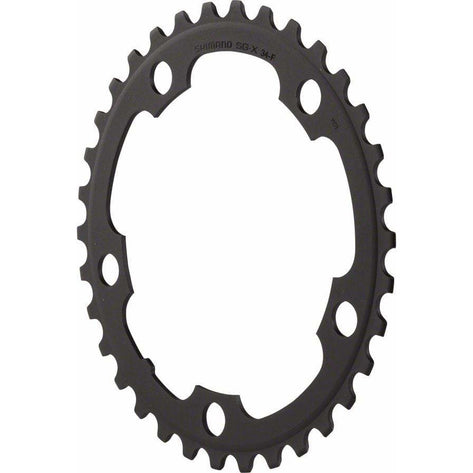 Shimano  Sora 3550 34t 110mm 9-Speed Chainring, Black