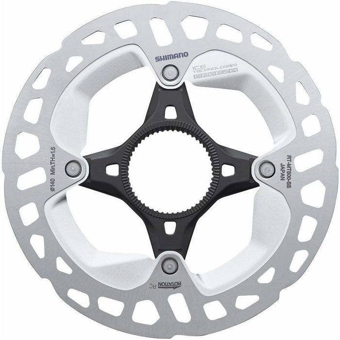 XT RT-MT800-SS 140mm Centerlock Disc Rotor with External Lockring