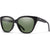 Smith Era - Matte Black ChromaPop Polarized Grey Green
