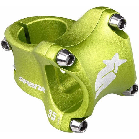 Spank Spike 31.8mm Race 2 Stem (Green)