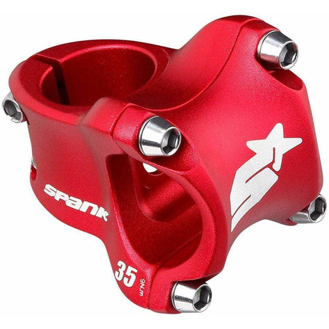 Spank  Spike 31.8mm Race 2 Stem (Red)