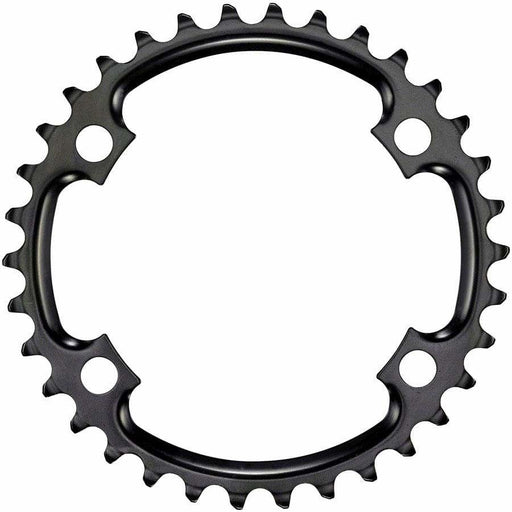 SRAM  11-Speed 34t 110mm Asymmetric BCD Steel Chainring, Black