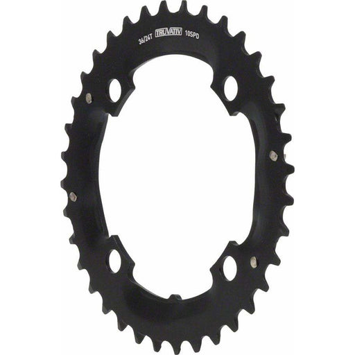 SRAM /Truvativ 36T 104mm 10 Speed Chainring to fit Specialized 24-36 Crankset No Retention Pin.