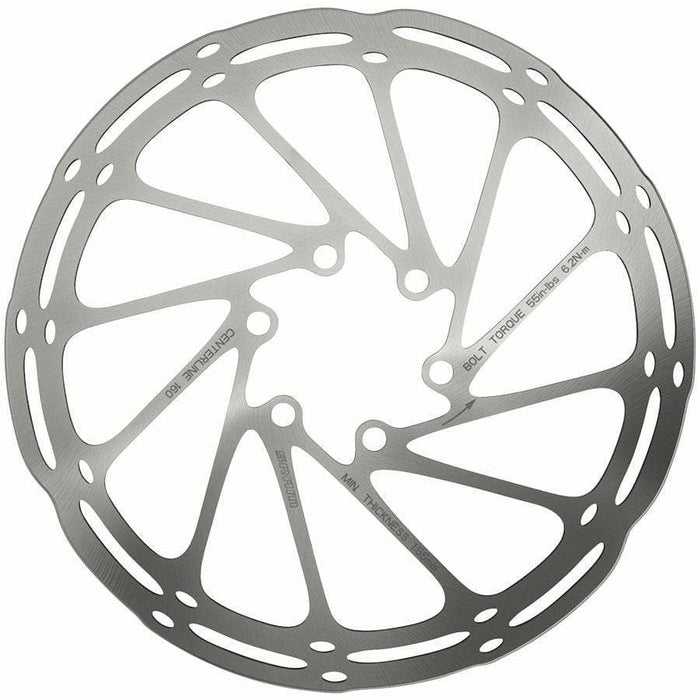 CenterLine 220mm 6-bolt Disc Rotor with Rounded Edge