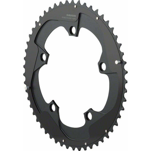 SRAM  Red 22 53T x 130mm BCD YAW Chainring with Two Pin Positions, B2
