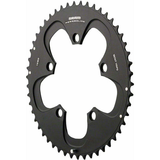 SRAM Red/Force Non-Hidden Bolt 52T 110mm Chainring, Use with 36 or 38T