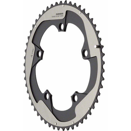 Red Yaw 53T 10-Speed Hidden Chainring, Use with 39T