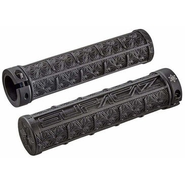 Supacaz Grizips Bike Handlebar Grips: Black