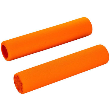 Supacaz Supalite Bike Handlebar Grips: Neon Orange
