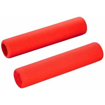 Supacaz Supalite Bike Handlebar Grips: Red