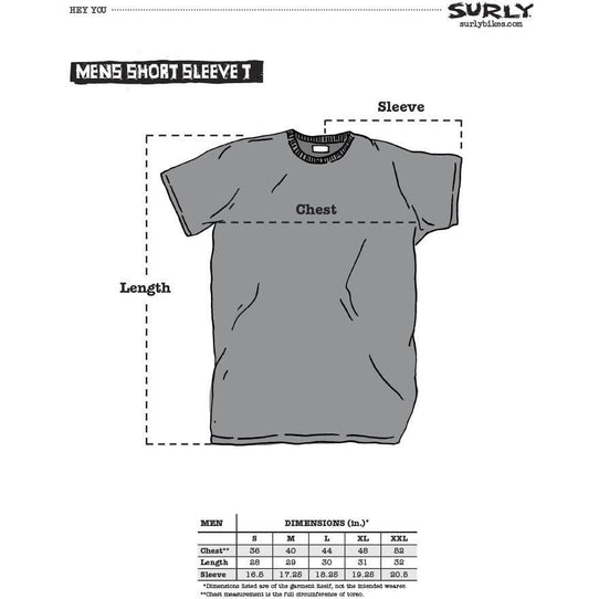 Surly Surly Make It Your Own Men's Short Sleeve T-shirt