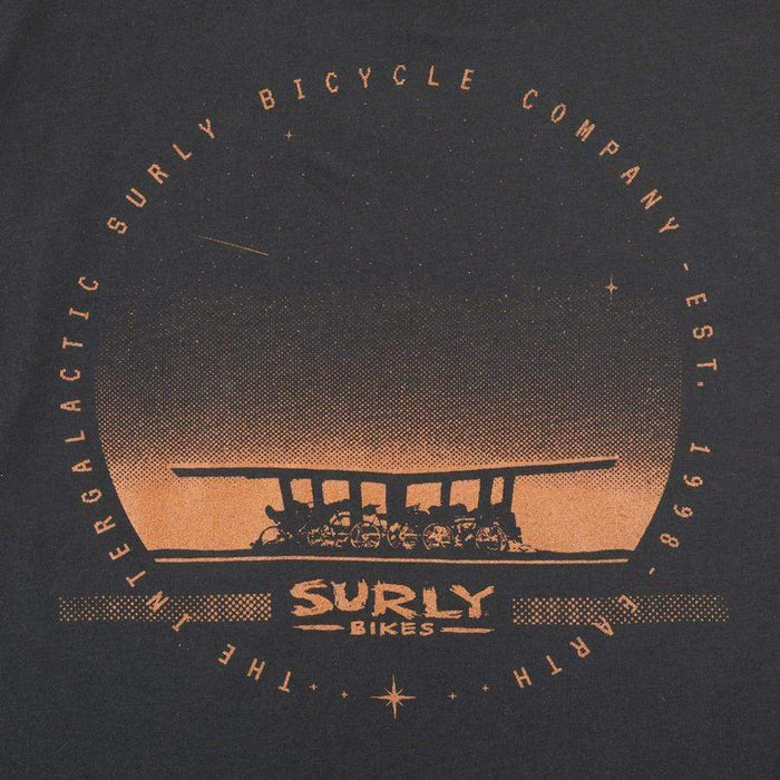 Surly Surly Space Station Men's T-Shirt - Black, Copper
