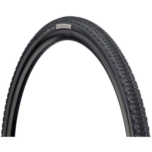 Teravail Cannonball Bike Tire, 700 x 35, Light and Supple, Tubeless-Ready