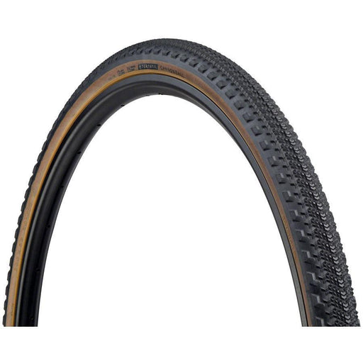 Teravail Cannonball Bike Tire, 700 x 38, Light and Supple, Tubeless-Ready, Tan