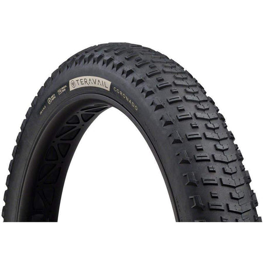 "Coronado Bike Tire, 26 x 4.0"", Light and Supple, Tubeless-Ready"