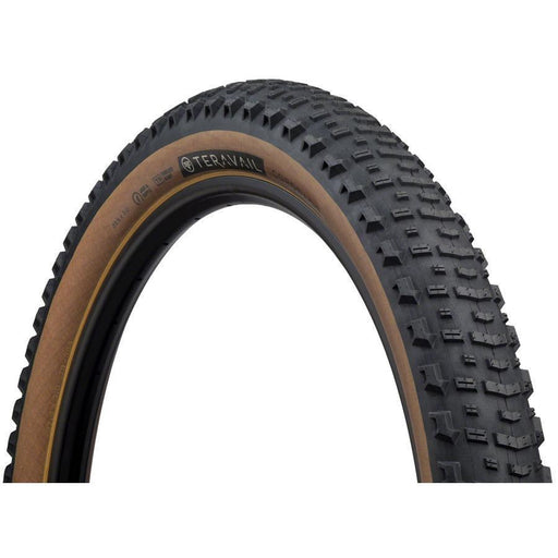 "Coronado Bike Tire, 27.5+ x 3"", Light and Supple, Tubeless-Ready, Tan"