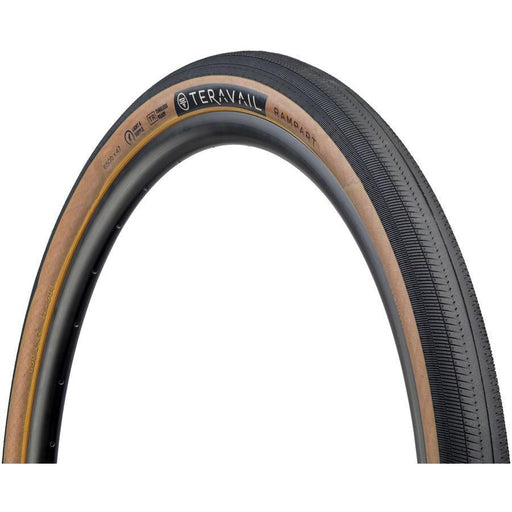 Teravail Rampart Bike Tire, 650 x 47, Light and Supple, Tubeless-Ready