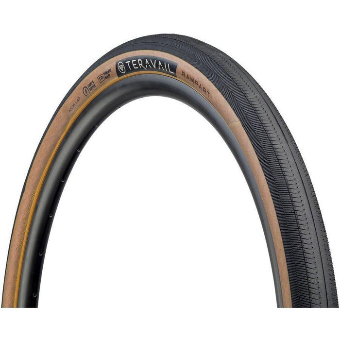 Rampart Bike Tire, 650 x 47, Light and Supple, Tubeless-Ready