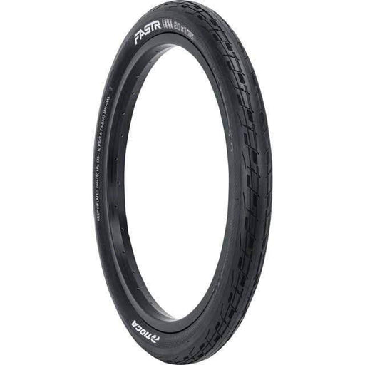 FASTR BLK LBL Bike Tire: 20x1.85, Folding Bead
