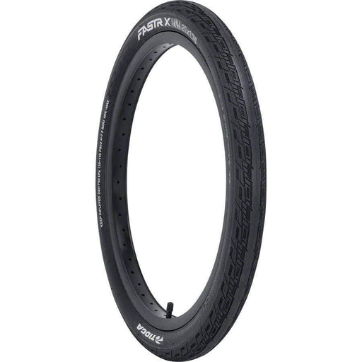 FASTR X BLK LBL Bike Tire Folding Bead